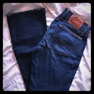 Lucky Brand Jeans Lil Maggie Jean 4/27 Cropped EUC